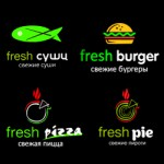 Мобильная версия сайта службы доставки Fresh Sushi & Pizza